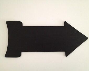 Wood Chalkboard Arrow