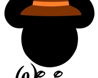 Custom Personalized Mickey Safari Hat Iron on Transfer Decal(iron on transfer, not digital download)