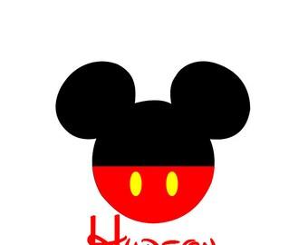 Disney Shirt Mickey Personalized Custom Iron on Transfer Decal(iron on transfer, not digital download) Disney Matching Family Vacation Shirt