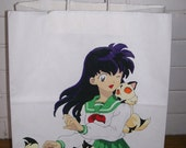Inu Yasha Kagome Higurashi Kirara Kuroro Anime Gift Swag All Purpose Bag