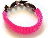 Hot Pink Rock Star Bracelet