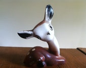 Quirky Vintage Ceramic Deer Fawn