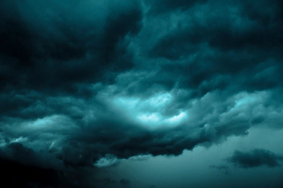 Stormy Clouds photograph Digital Download Fine Art Photography dark clouds tempest image storm photo sky picture weather rain wall art
