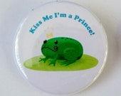 Prince Frog Pinback Button