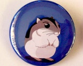 Bande dessinée Hamster badge