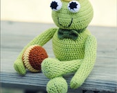 Crochet toy - Frog Charming