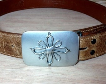 Flower Belt Buckle