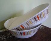 "Vintage Noritake Progression China ""Mardigras"" serving bowls, Thanksgiving dinner, fall table, family dinner"