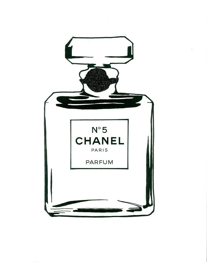 Vibrant image with regard to chanel printable