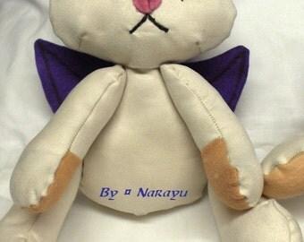 Kitty Moogle plushie