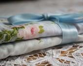Burp Cloth Set - Cottage Chic, Chenille