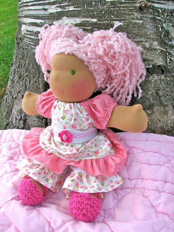 Waldorf Doll, 12 inch, Charity, Girl luvkin