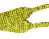 yellow green headband,crochet headband,bandana,hair accessories,for her,gift ideas,fashion,cotton,mercerized,soft,chic,beach