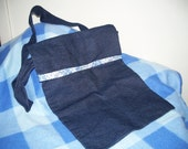 Blue Denim Sholder Bag
