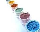 Vegan Mineral Makeup Eye Shadow Sample - Pick 3 Colors - Natural Eyeshadow
