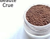 Mineral Makeup Eye Shadow - Chocolate - Vegan Makeup, Hand Crafted - Sample Jar