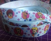 "3 YARDS - Scooby Doo 1"" Grosgrain Ribbon"