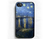Starry Night Van Gogh IPHONE CASE   iPhone 6/6S   iPhone 6/6S Plus   iPhone 5/5S   iPhone 5C   iPhone 4/4S