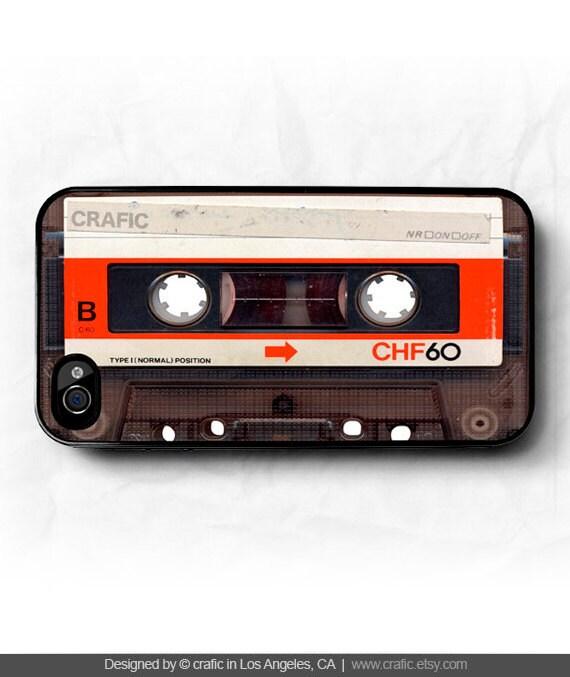 Red Cassette iPhone 5S Case, iPhone 5C Case, iphone 6 case, iPhone 7 case, iPhone 7 plus case