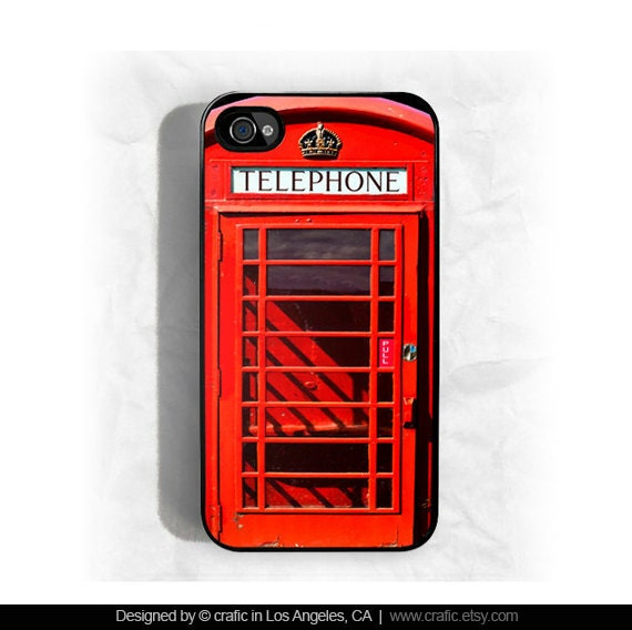 Red British Phone Booth iPhone 5s Case, iphone 6 case