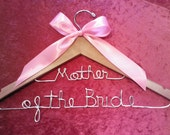 Personalized Hanger/Mother of the Bride/Bridal Hanger/Personalized Custom Bridal Hanger/personalized bridal hanger/Personalized Wire Hanger