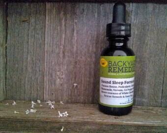 Sound Sleep tincture, sleep and relaxation aid, sleep magic, 1 oz. herbal tincture