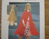 1950's SIMPLICITY PATTERN  for unlined CAPE