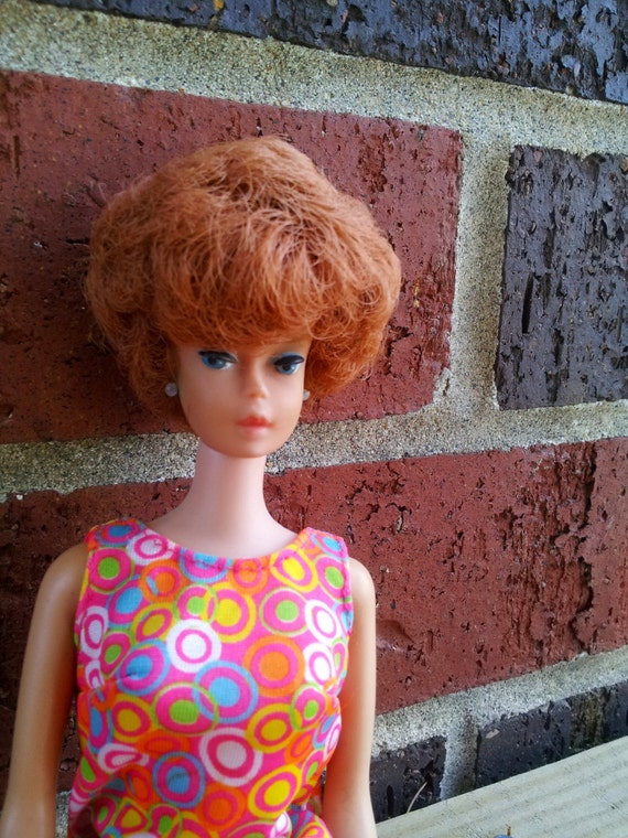 1964 Barbie Doll, Bubble Cut (redhead) EXCELLENT Condition, without box/clothes