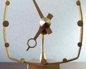 Jefferson Golden Secret Art Deco Electric Clock (ITEM ON HOLD for Mr. Post)