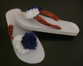4th of July womans sandals