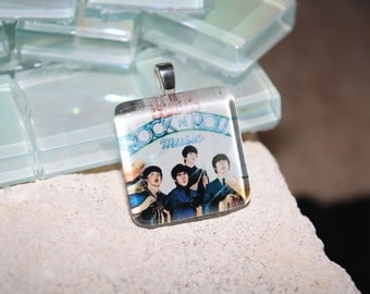 Beatles Glass Pendant