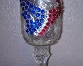 Houston Texans Redneck Wine Glass