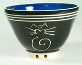 Everything Bowl with Cat design