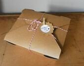 12 Bio-Plus Earth Kraft Take-Out Boxes