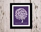 Alternative Wedding Guestbook Tree. A cherished keepsake - for your home wall decoration