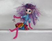 Handmade Doll Fairy OOAK (One Of A Kind) Art Doll Fantasy Faerie Wild Elf