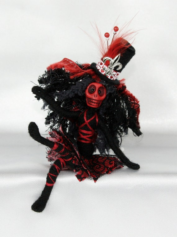 Original Zombie Art Doll OOAK One of a Kind Gothic Handmade Collectable