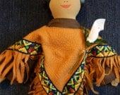 Blessed Kateri Tekakwitha Cloth Doll
