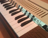 Vintage 1980s Bontempi Reed Organ, Electric Air, Children's Toy Keyboard/Piano