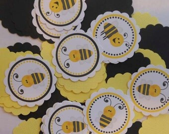 Bee Table Confetti / Minis -  Party Decorations