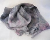 Silk Scarf, Hand dyed using Natural Dyes