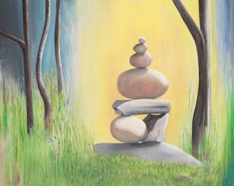 Balance II Acrylic Painting