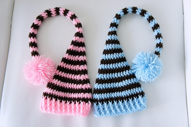 Crochet Animal Hats : Crochet Animal Hats Elf hat, crochet elf hat,