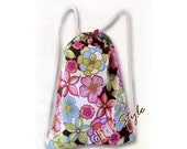 Diaper Tote Bag - Backpack - Toy Sack - Childrens Sports Bag - First Aid Bag - Travel Organizer - IPad Pouch - Made to Order