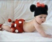 Baby Minnie Mouse Photo Prop