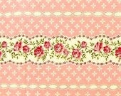 Pink Floral Shabby Chic Fabric