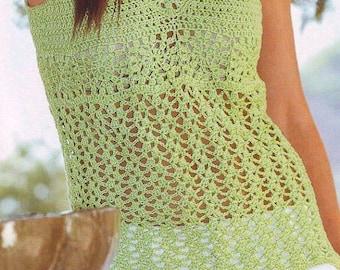 Summer women crochet vest - MADE TO ORDER