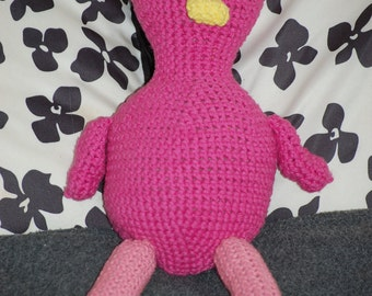 Crochet Flamingo Stuffed Animal