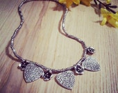 Brighton style charm necklace