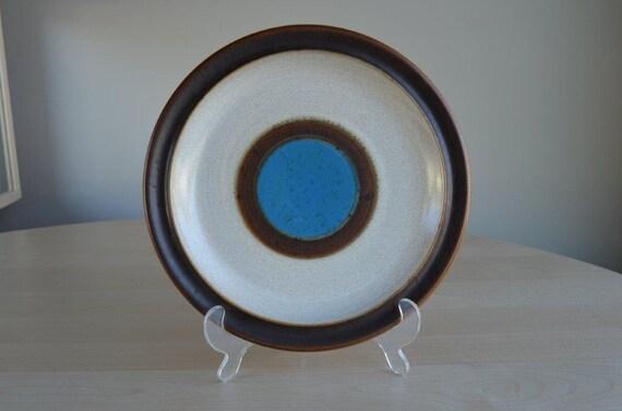 Denby Blue Potter's Wheel Dinner Plate